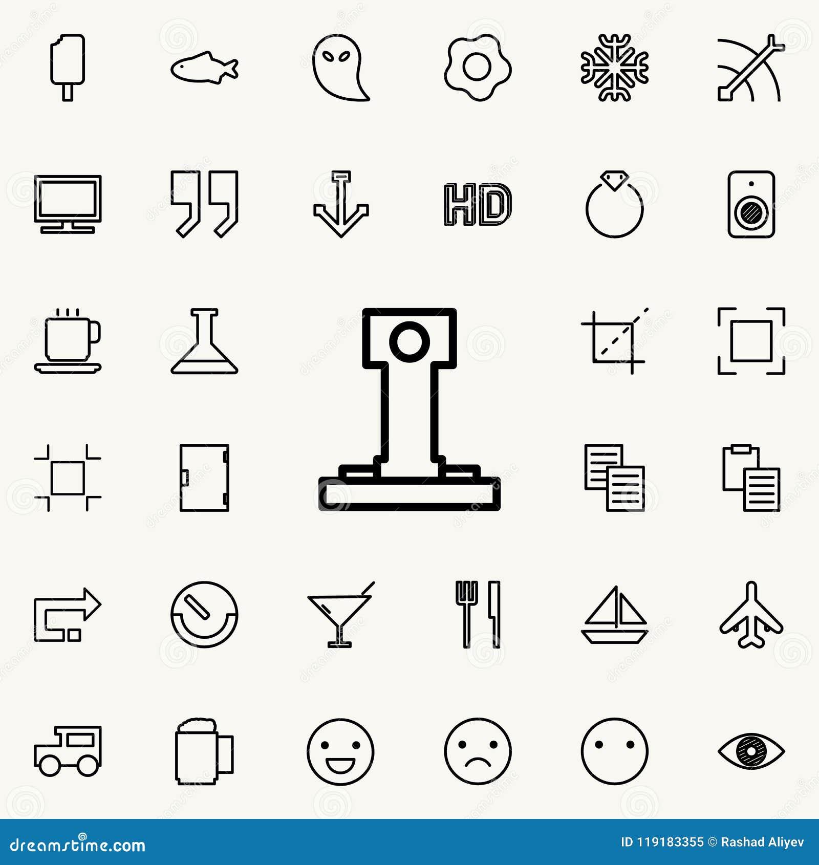 Mini Lighthouse Outline Icon Detailed Set Of Minimalistic Line Icons Premium Graphic Design
