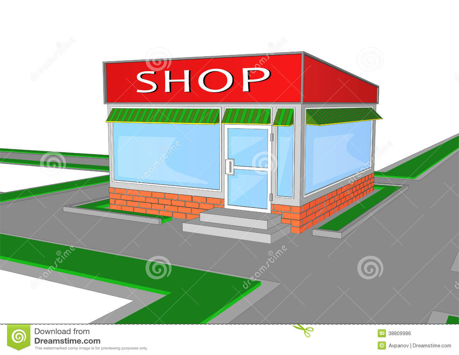 retail store clip art free - photo #40