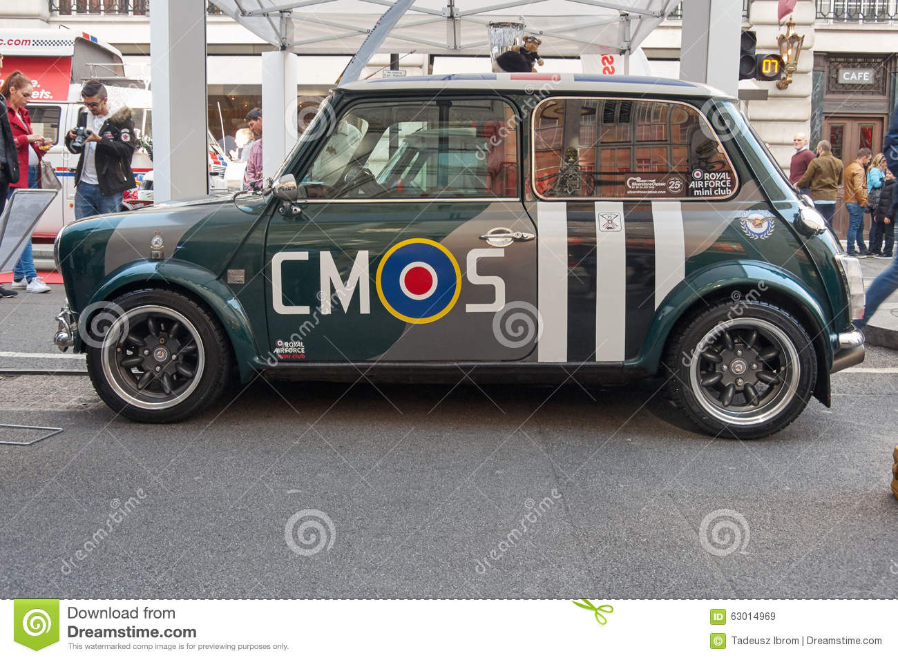 Mini Moris Editorial Stock Image Image Of Cooper Street 63014969