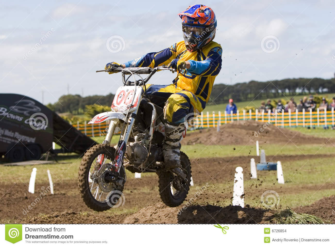 mini motocross on phillip island melbourne editorial. Black Bedroom Furniture Sets. Home Design Ideas