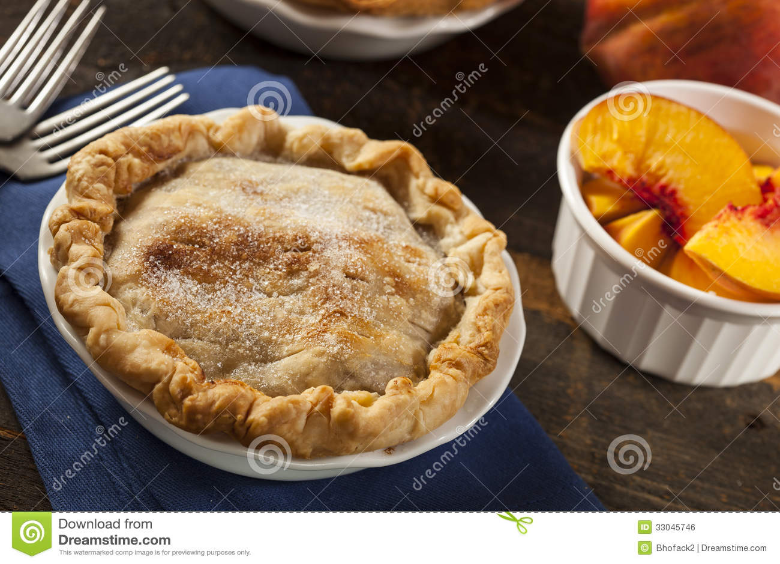 Mini Peach Pie Dessert