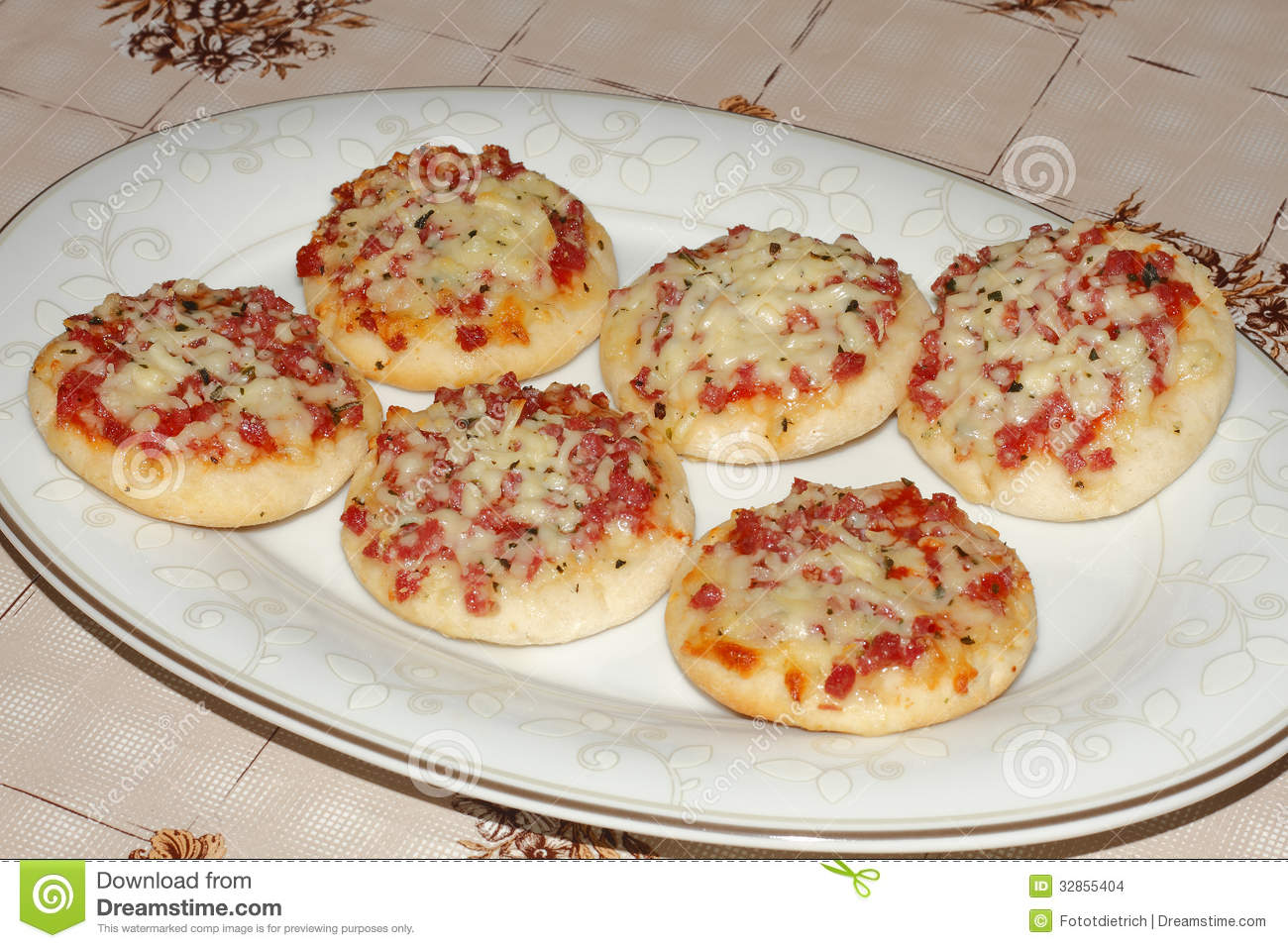 how to cook mini pizzas