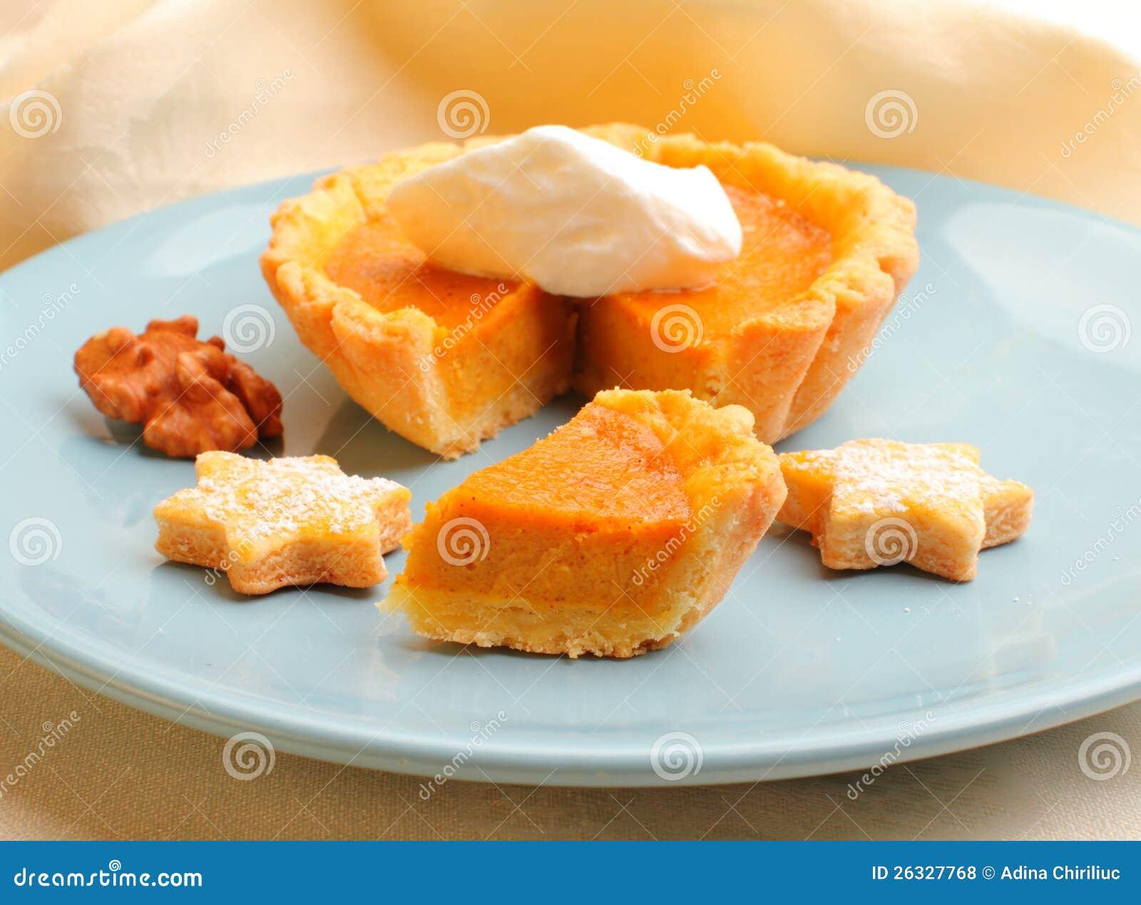 Mini Pumpkin Tart Royalty Free Stock Photos - Image: 26327768