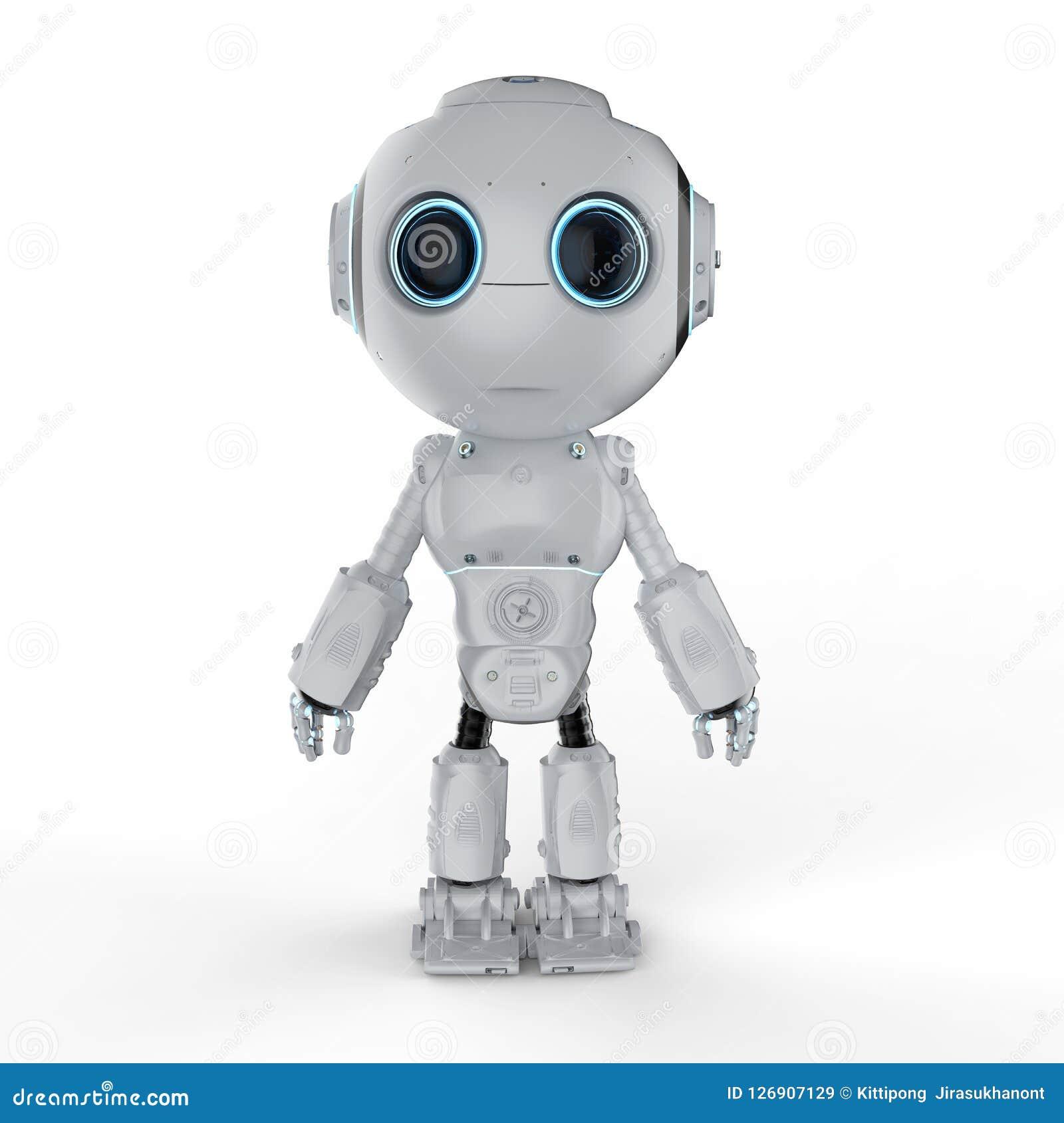 Mini robô bonito