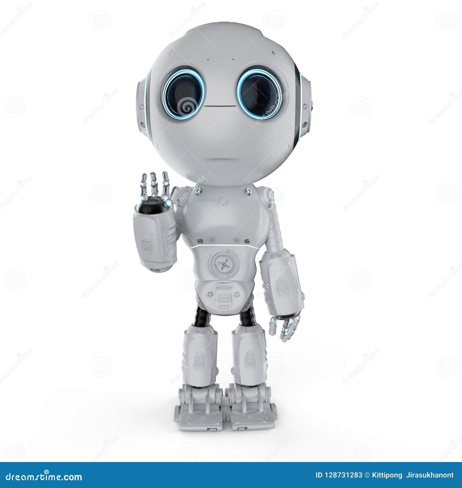 Mini- robothand upp