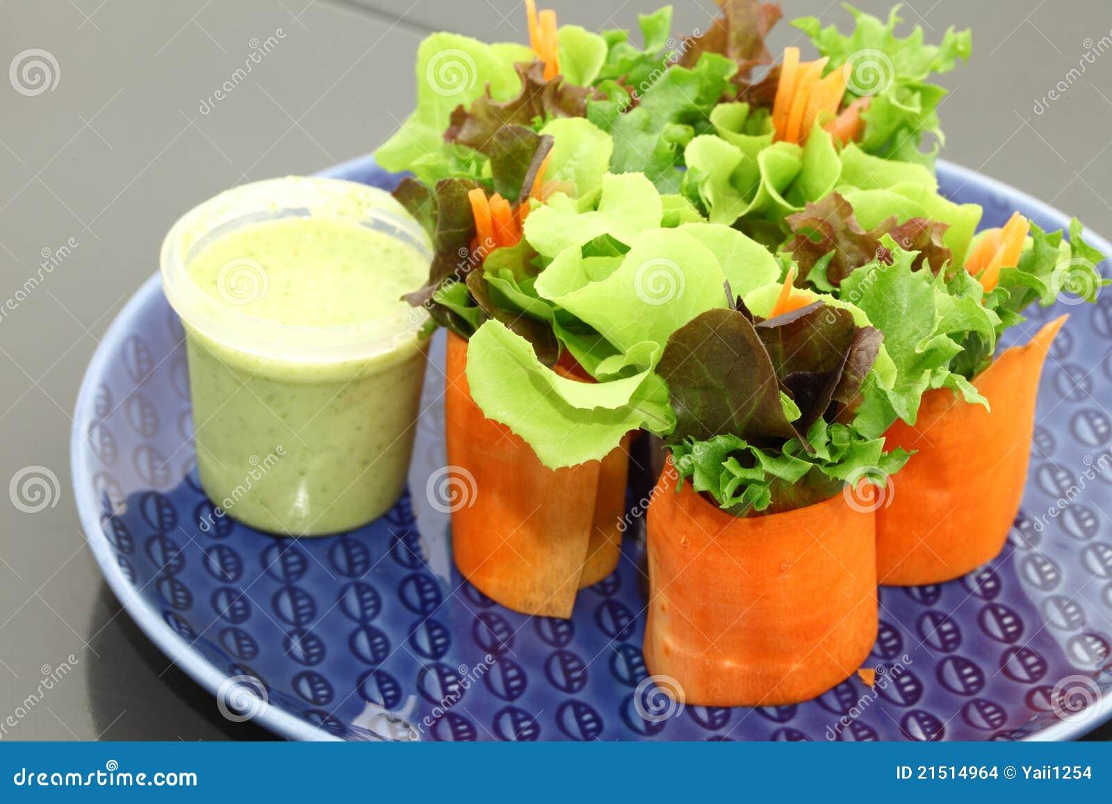 mini salade stock foto afbeelding bestaande uit groen 21514964. Black Bedroom Furniture Sets. Home Design Ideas