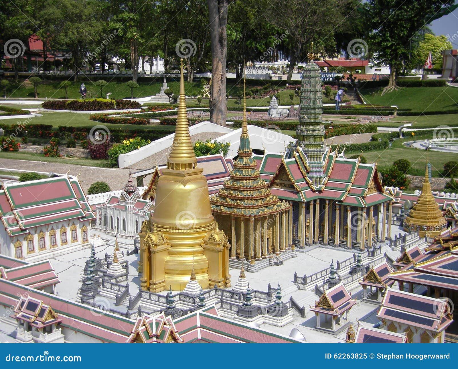 MINI SIAM, MINIATURE PARK, PATTAYA, THAILAND Stock Photo - Image: 62263825