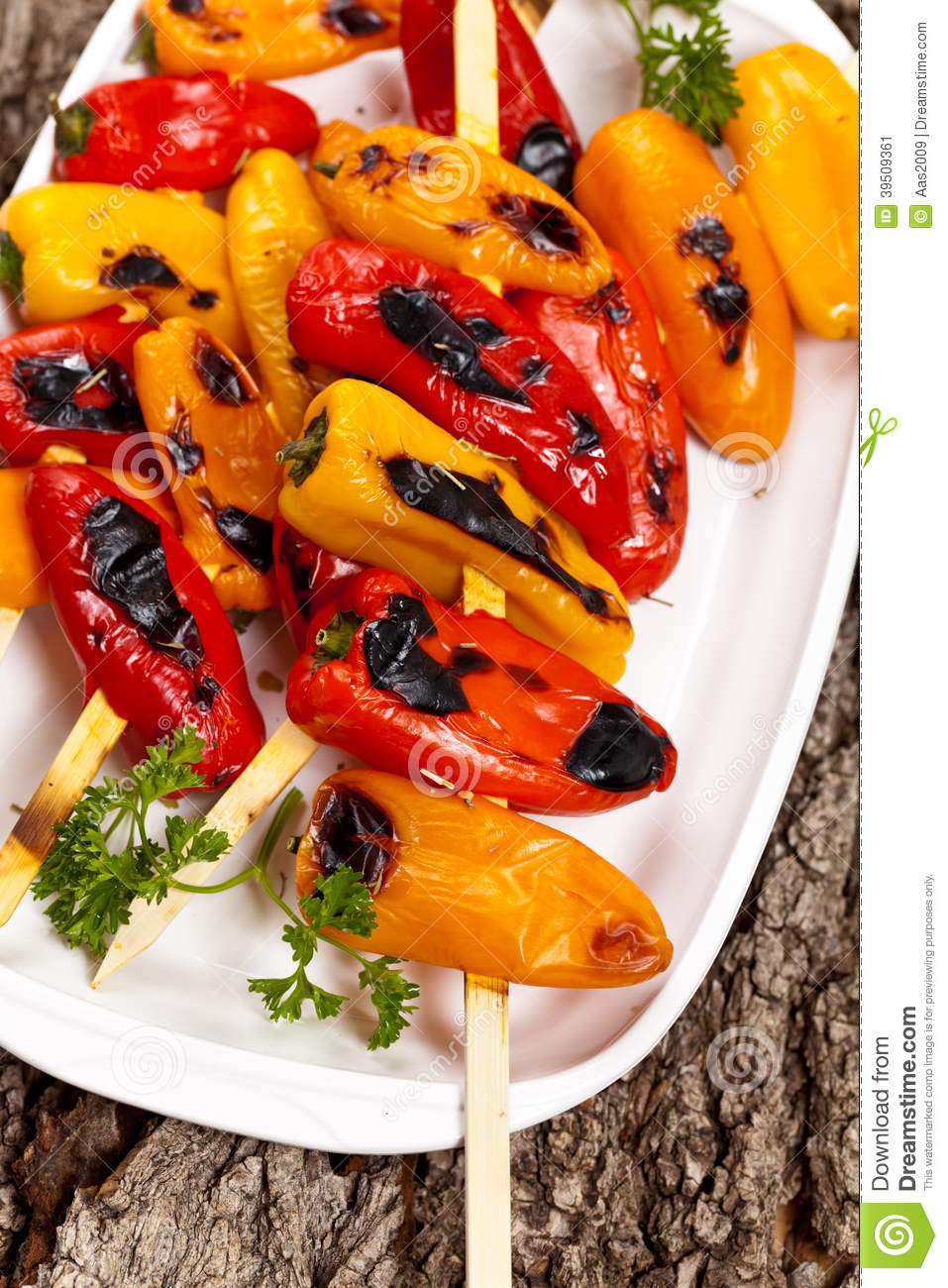 Mini Sweet Peppers arrostito