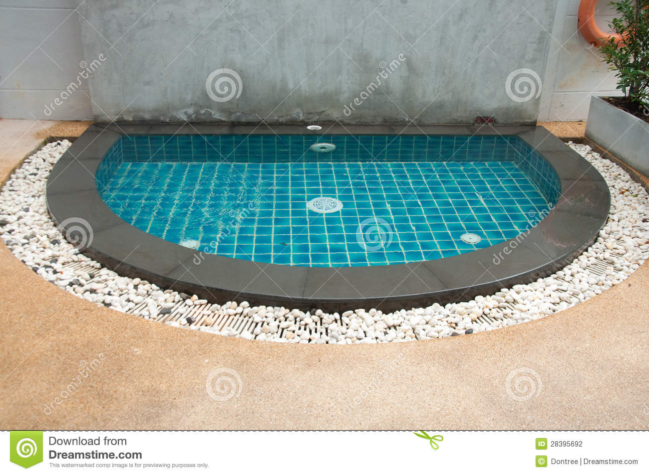 Mini Swimming Pool Stock Photography Image 28395692
