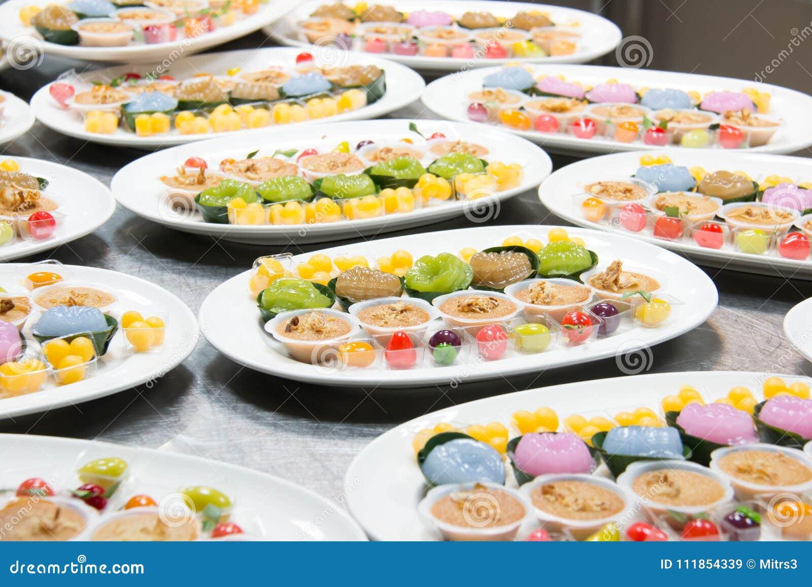 Mini Thai Food And Dessert