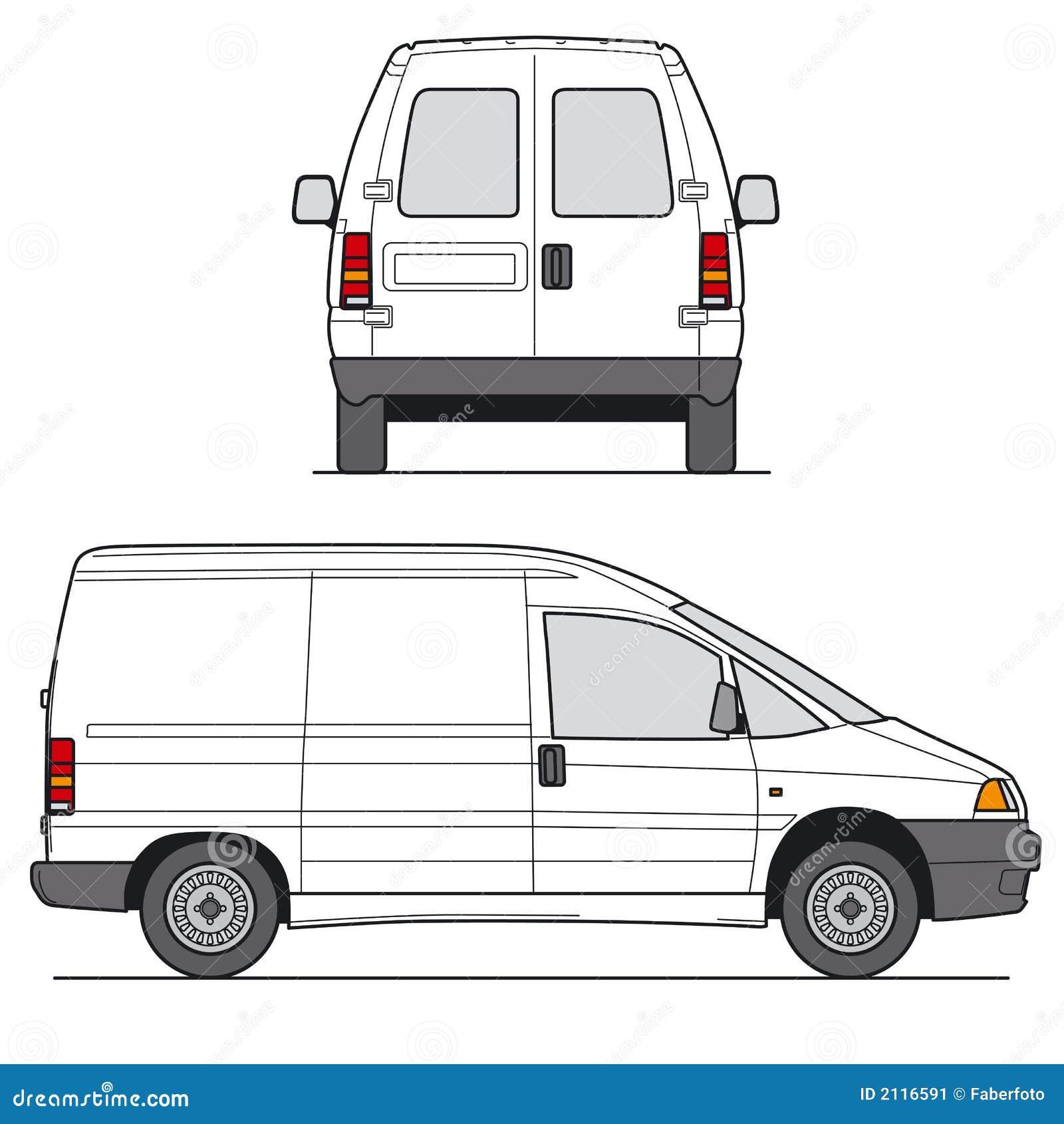 Mini van Wektora