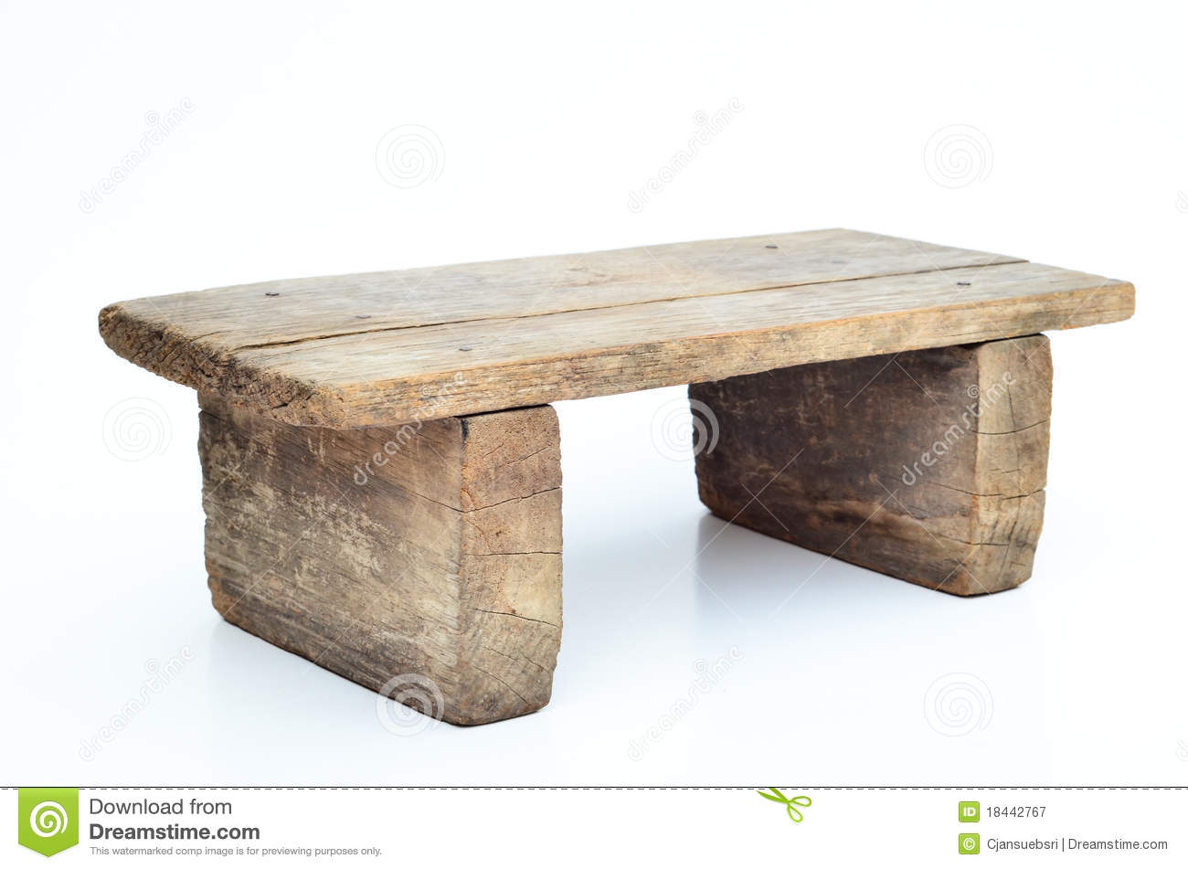 Mini Wood Stool Stock Image Image Of Object Home