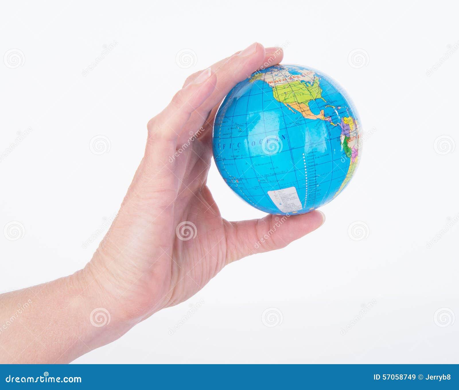 Mini World Map.Mini World Globe Stock Image Image Of Science Revolving 57058749