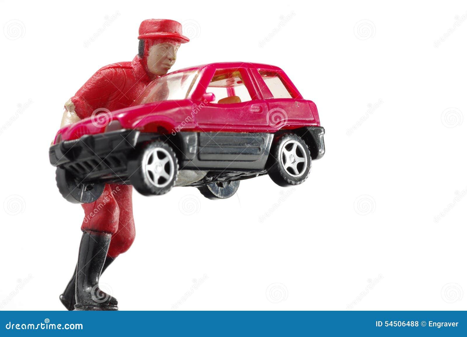 Miniature de voiture de travailleur