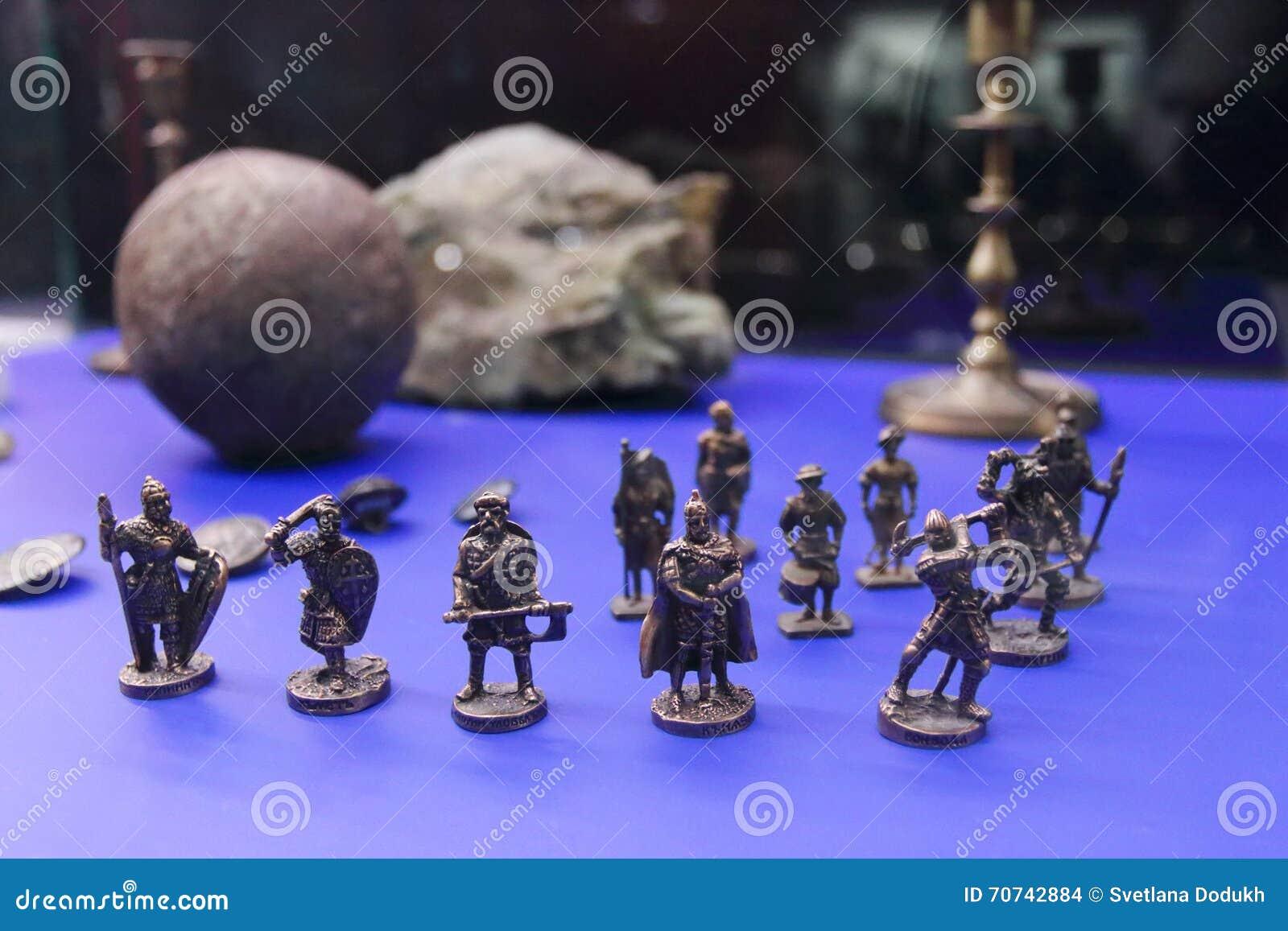Miniature figurines of warriors