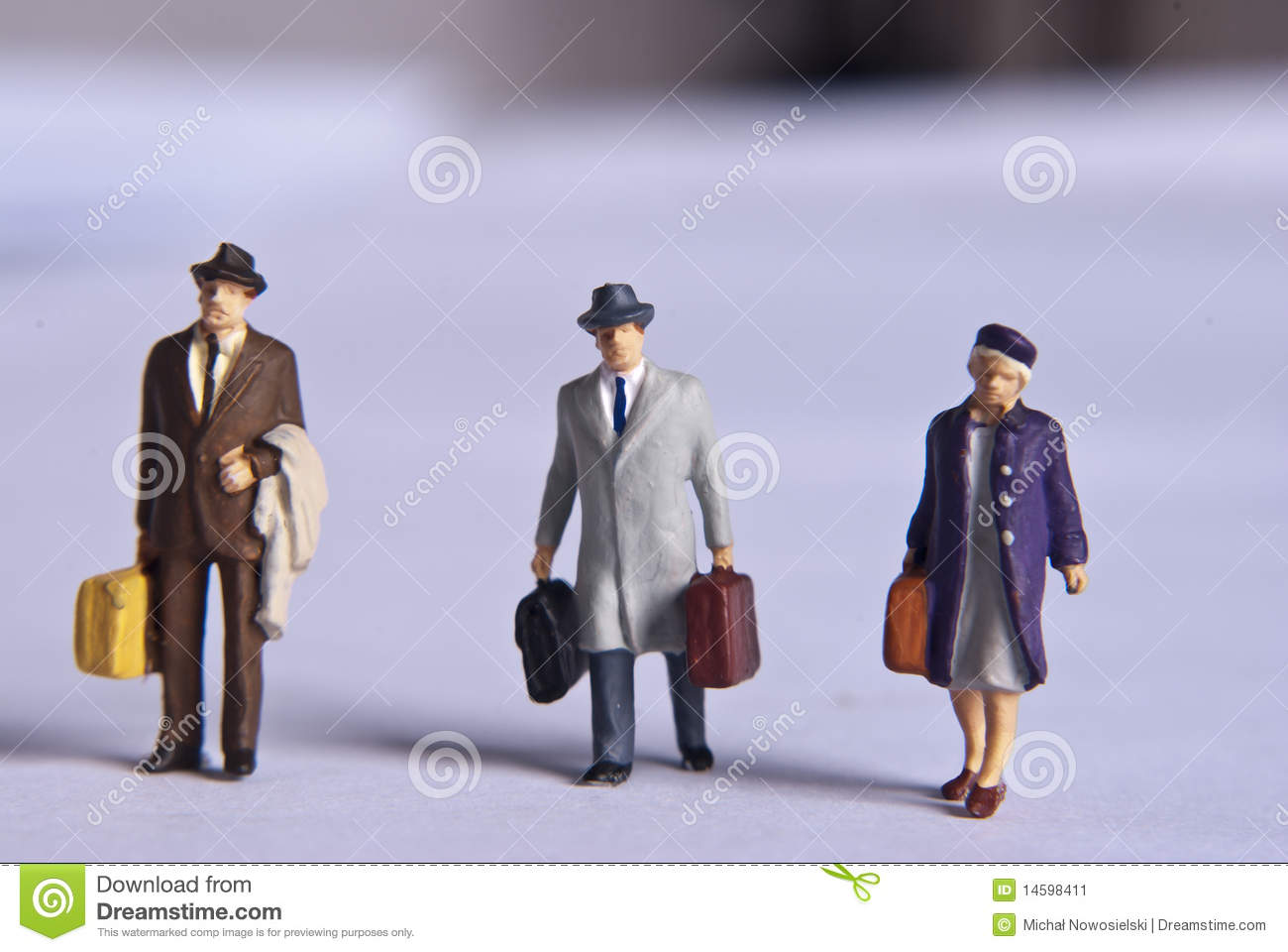 Miniature People Stock Image Image 14598411