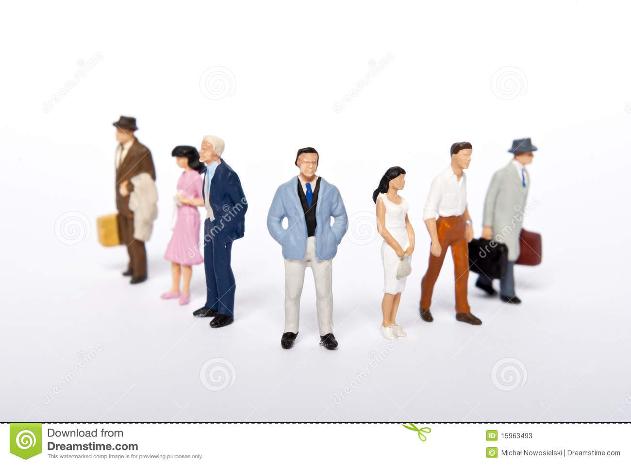 Miniature People Stock Photos - Image: 15963493