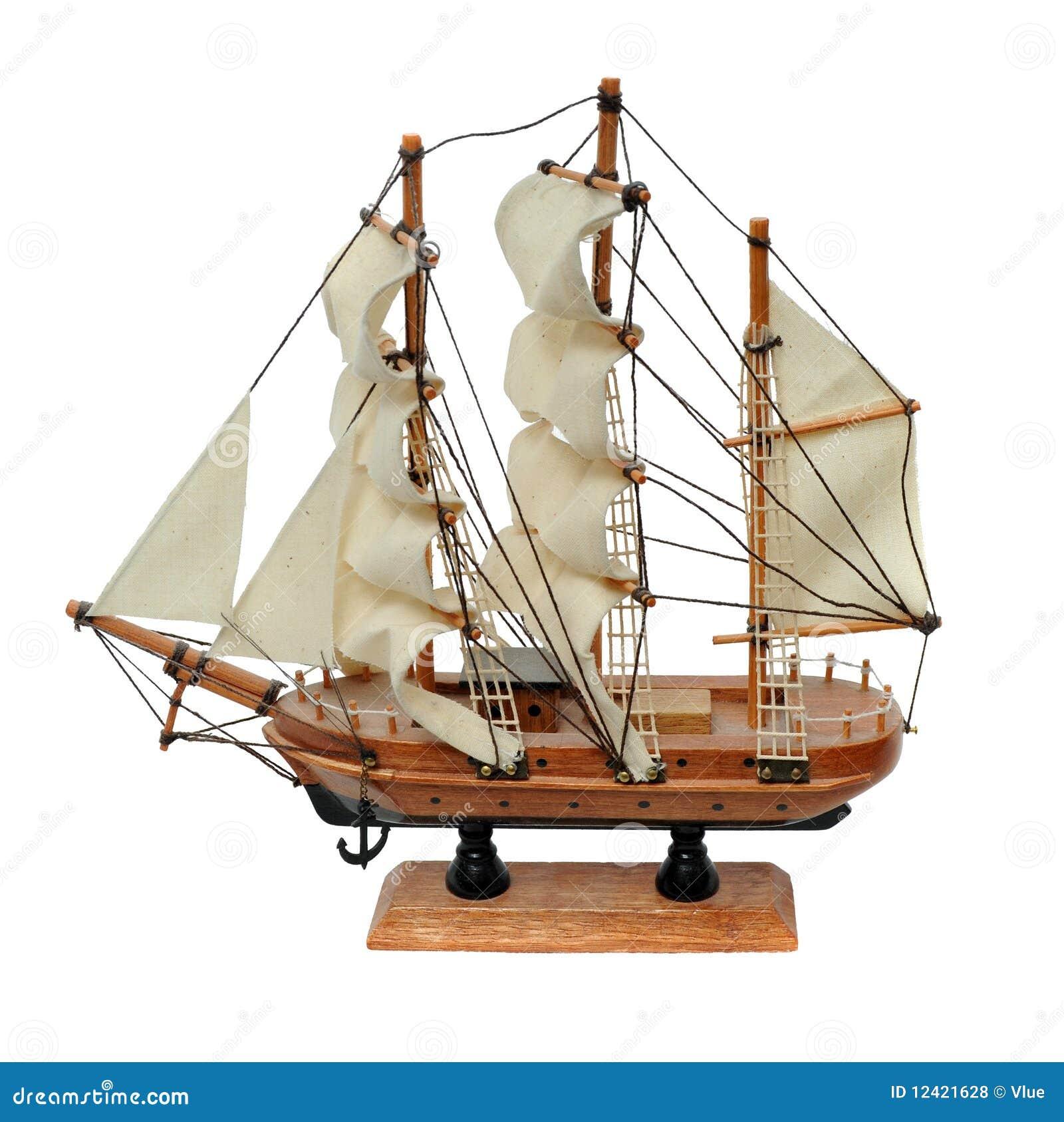 Miniature ship model stock photo. Image of explore, pirate ...