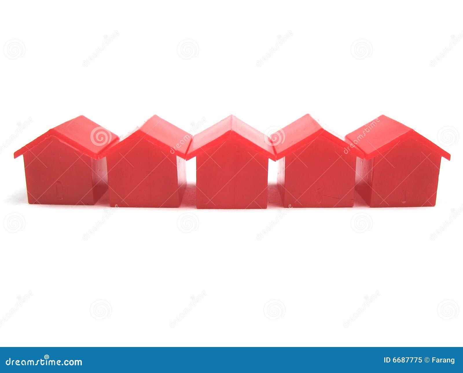 Miniatuur huizen