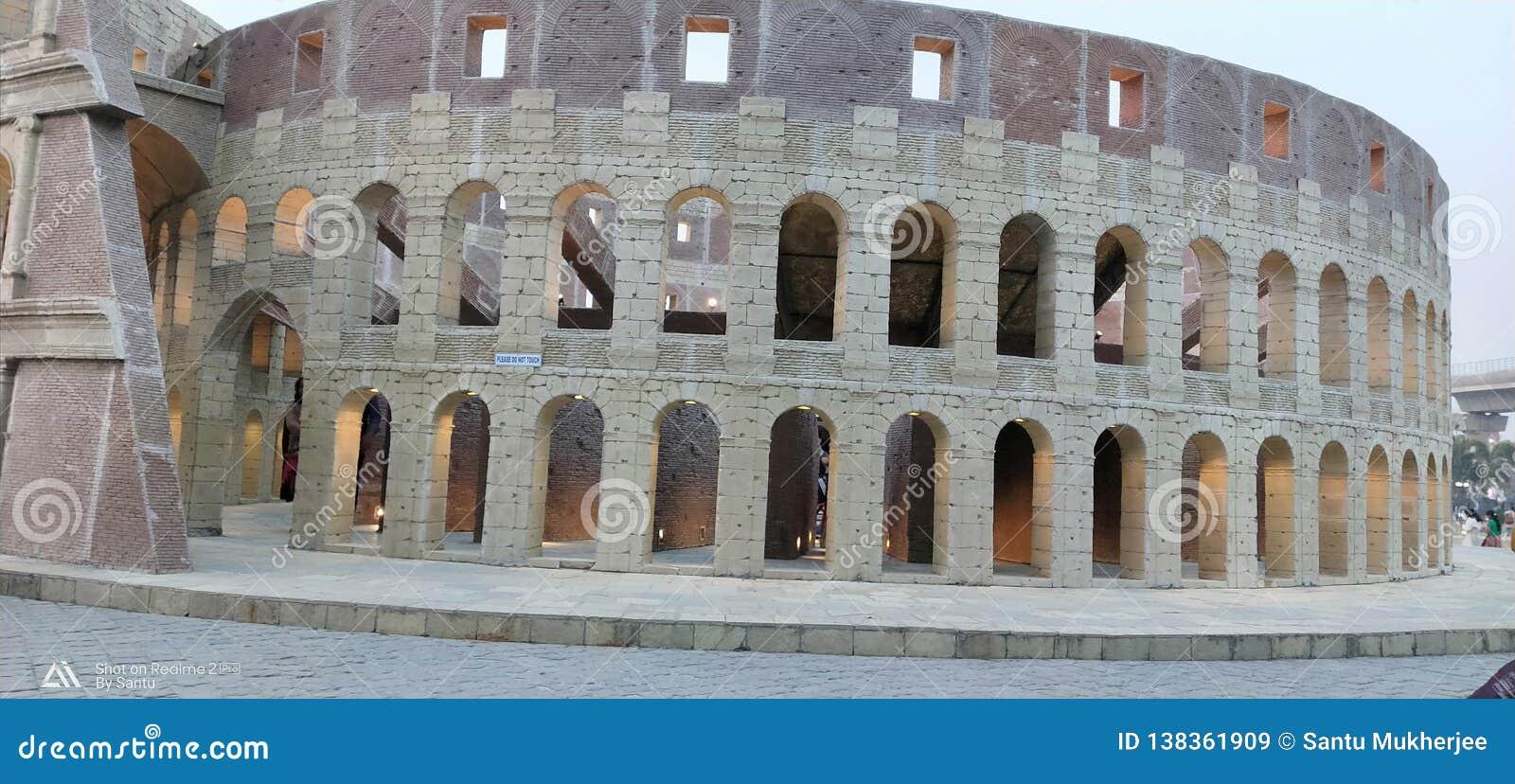 Miniatyr av Roman Colosseum