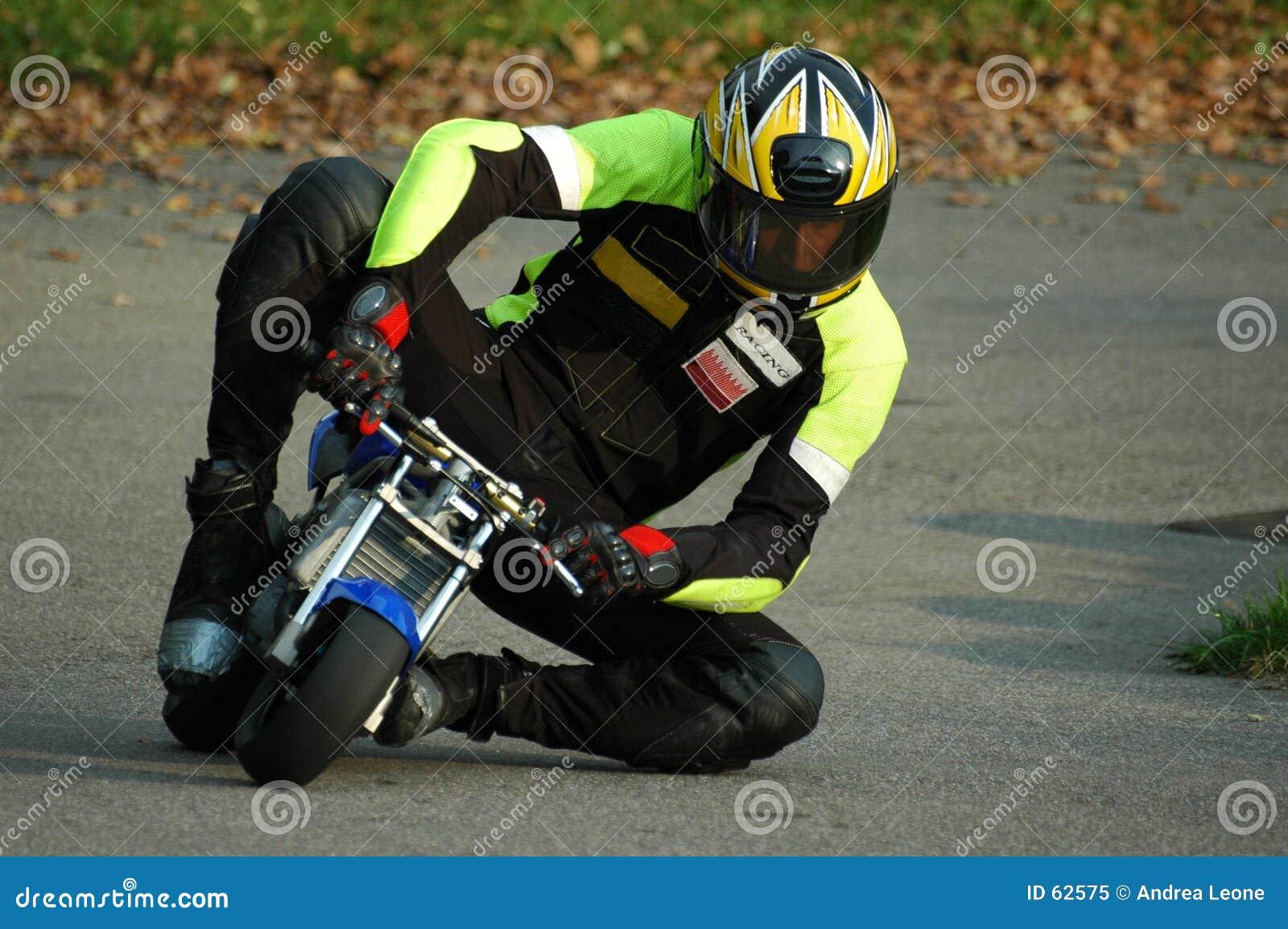 Minibike II di corsa