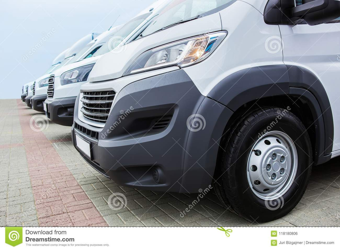 3b1b1e47d5 Minibuses and vans outside stock photo. Image of backgrounds - 118180806