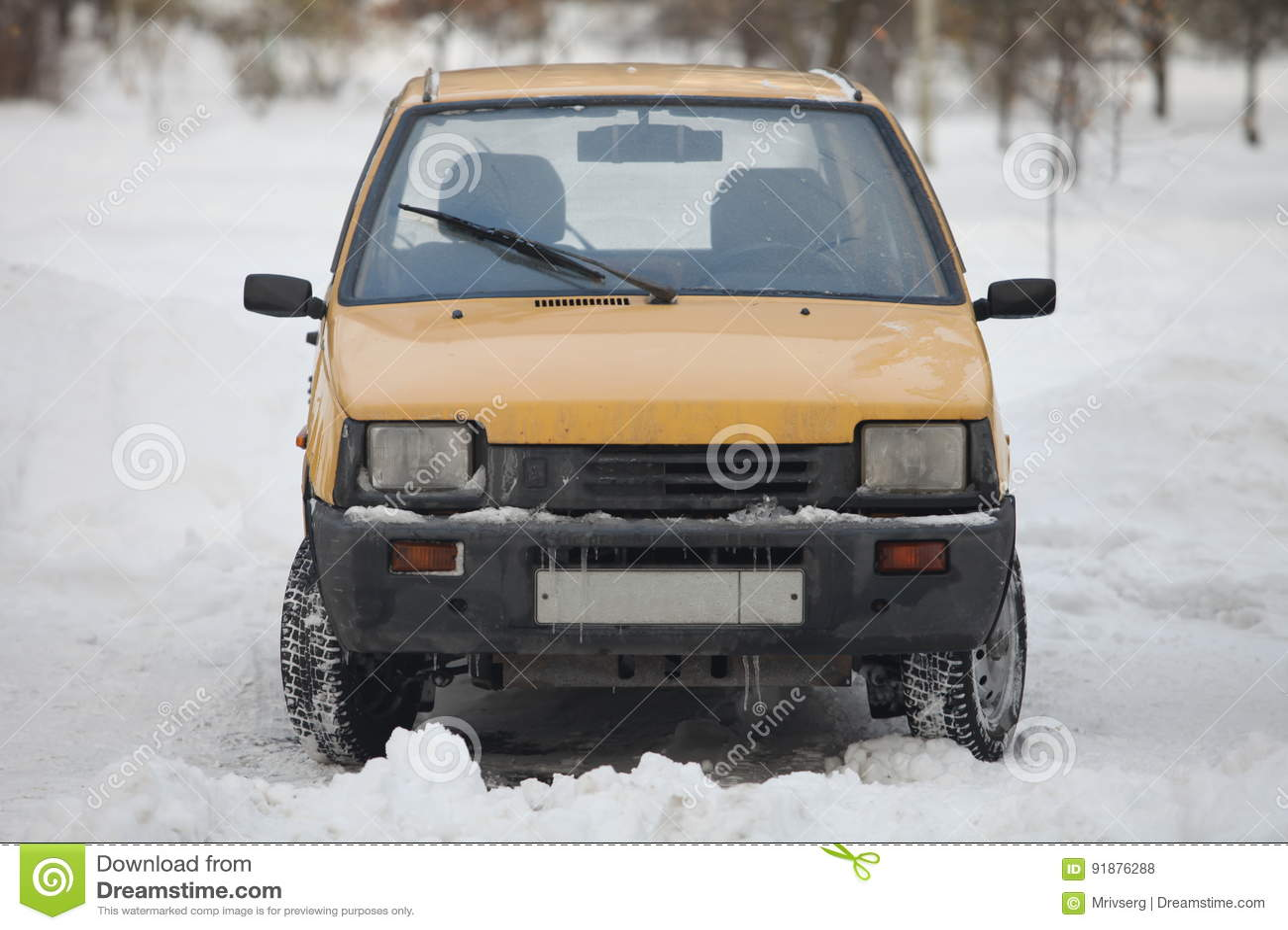 Minicar Vaz 1111 Oka Editorial Stock Photo Image Of Vehicle