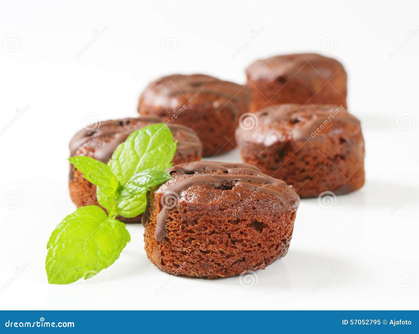 Minichocoladecakes