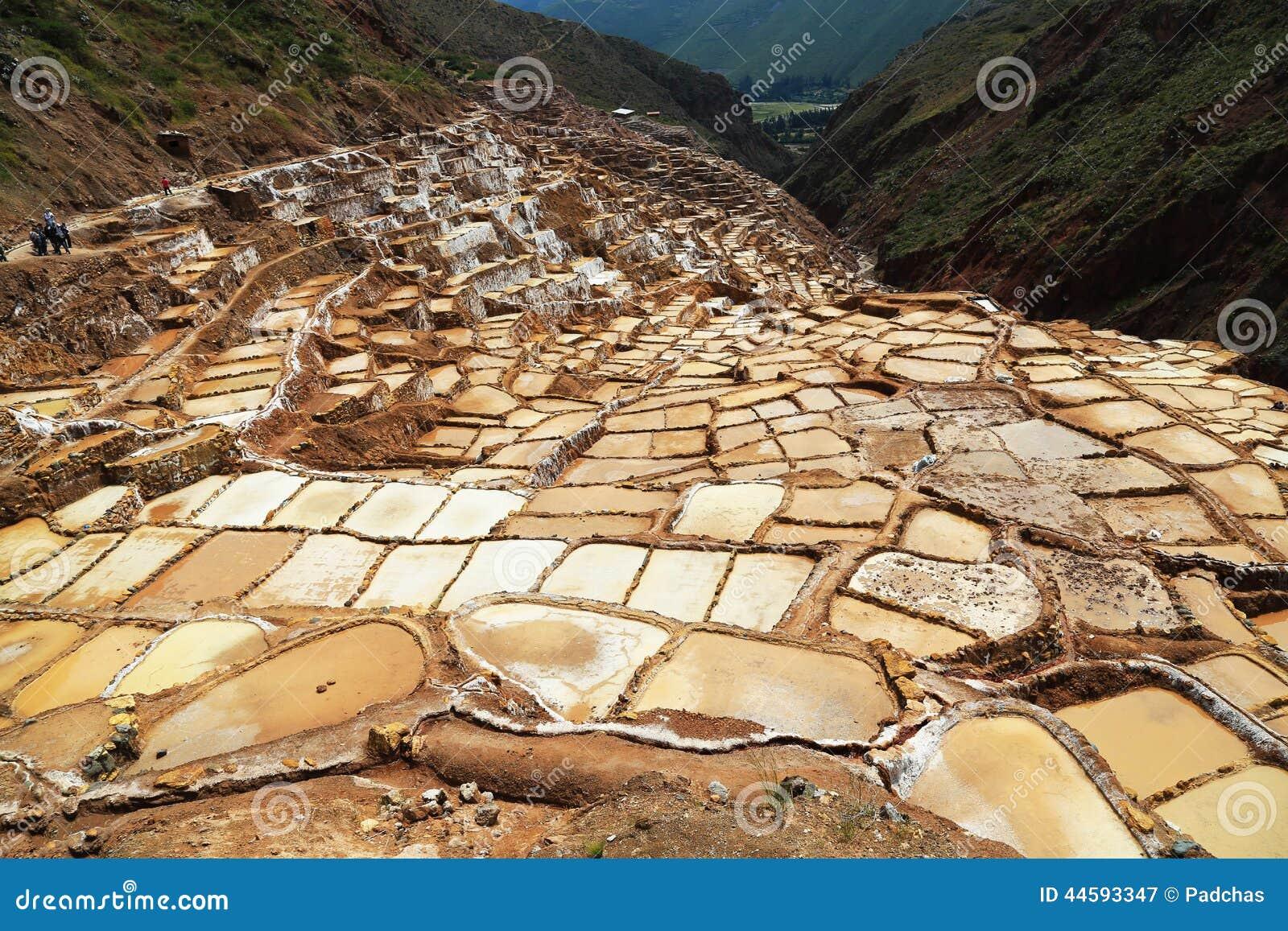 Miniera di sale di Maras nel Perù