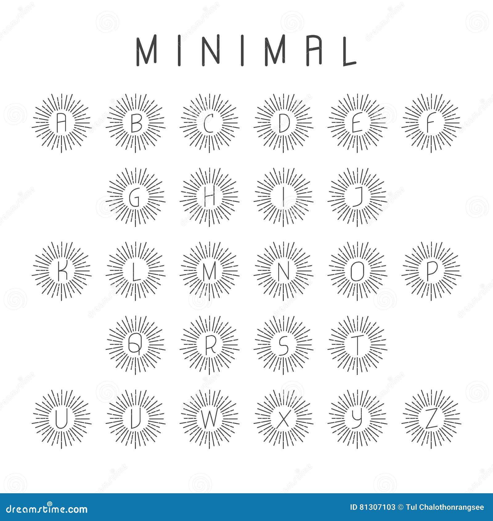 Minimaal alfabetembleem