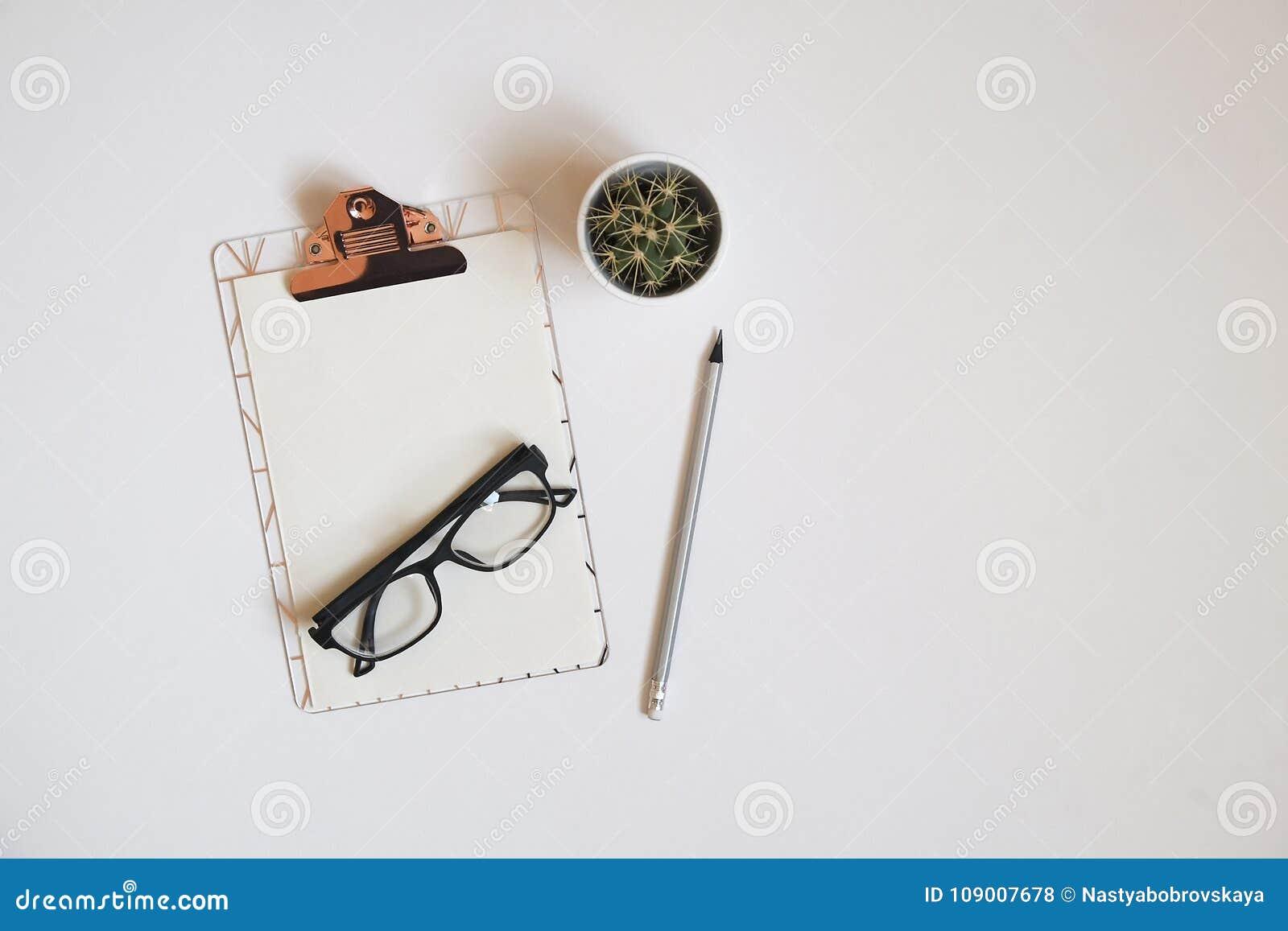 Girlie Set Of School Supplies With Plain Pencil Pen, Blank