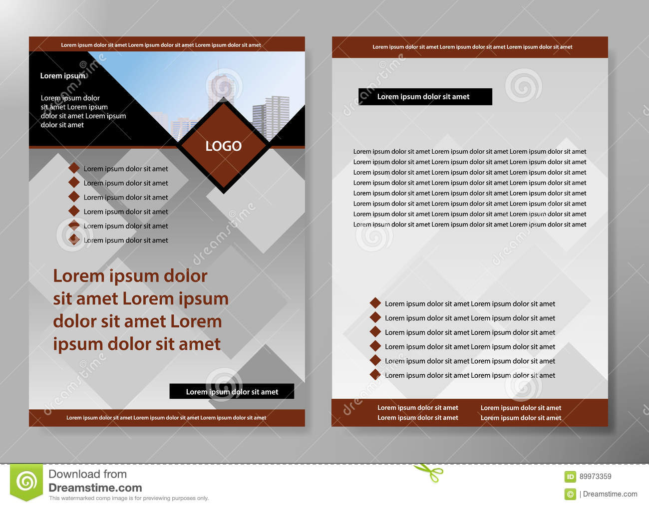 Minimal flyers report business magazine poster layout portfolio download minimal flyers report business magazine poster layout portfolio templateochure design template vector accmission Gallery