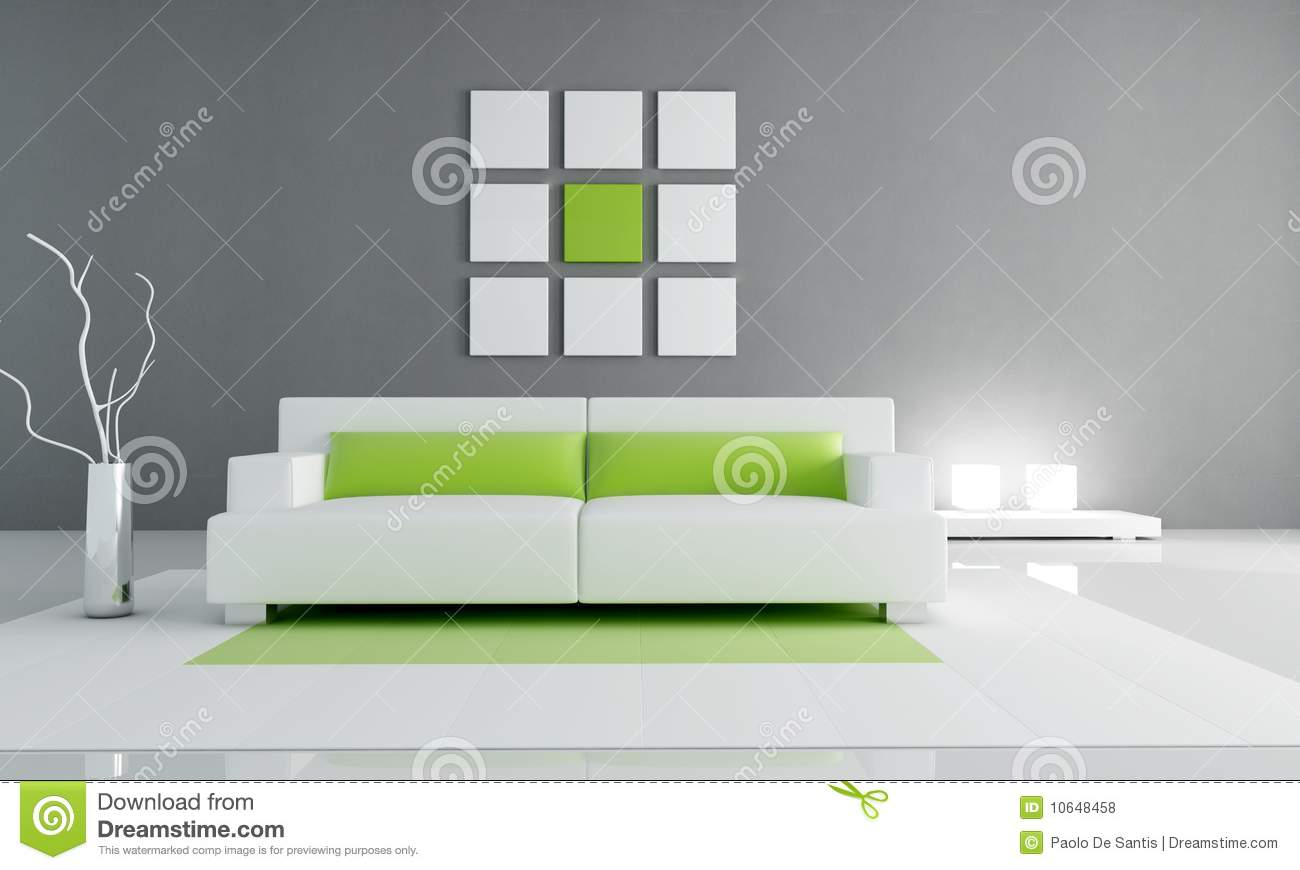 minimal green and white interior royalty free stock photos image contemporary green interior living minimal room white