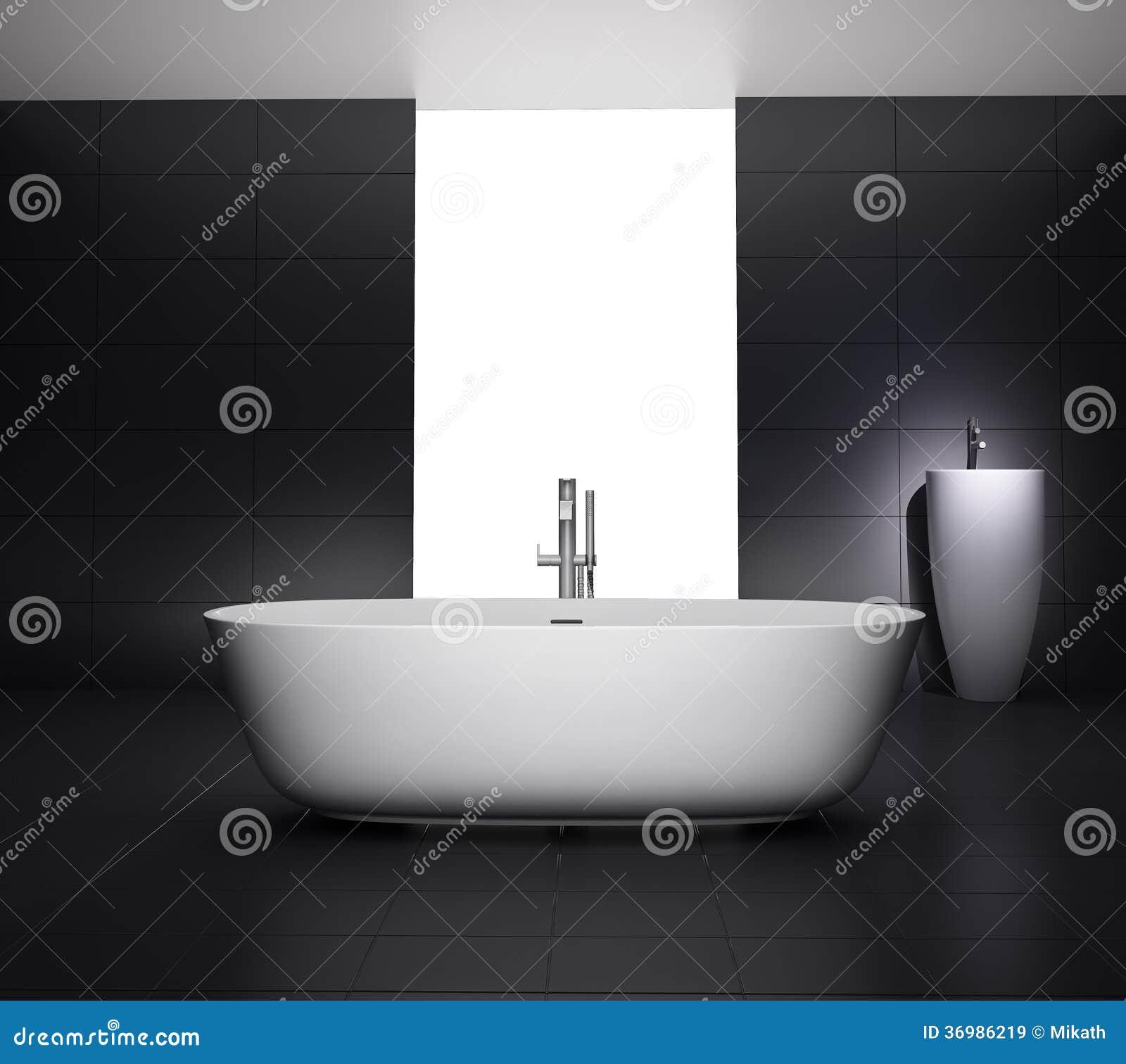 Bathroom Bathtub Grey ...