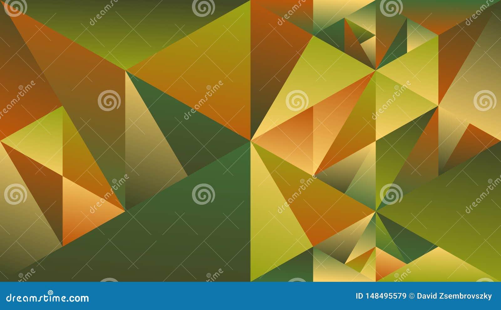 Minimal Polygonal Dynamic Multicolored Gradient Triangle Hd