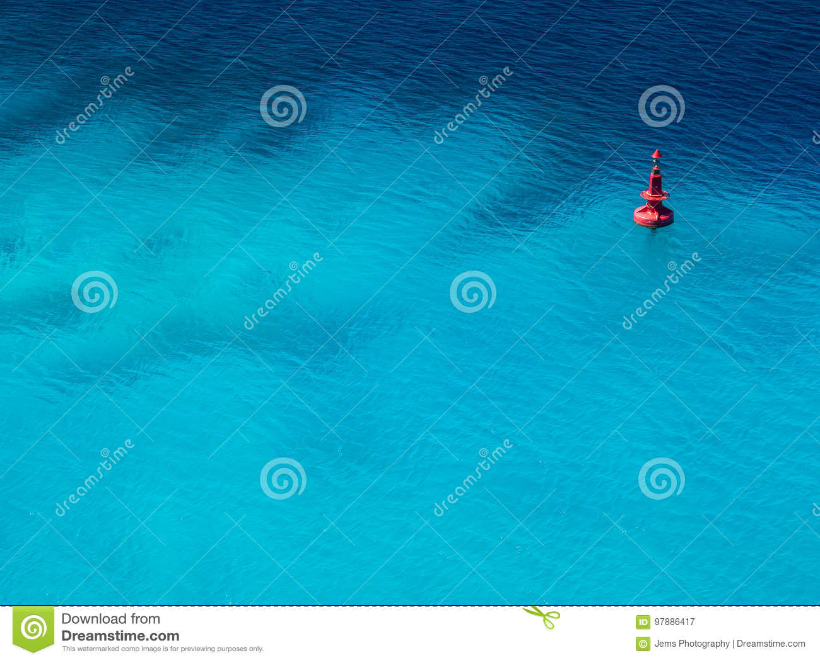Minimale Ozean-Boje