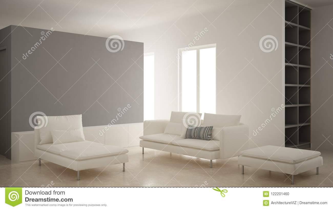Sensational Minimalism Modern Living Room With Gray Plaster Wall Sofa Camellatalisay Diy Chair Ideas Camellatalisaycom