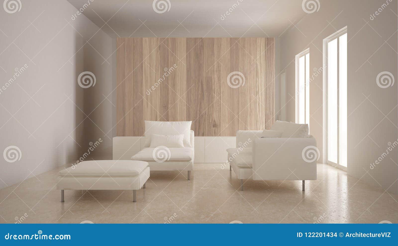 Le Avec Mur Moderne Longue MinimalismeSalon En BoisSofaChaise wmN8n0