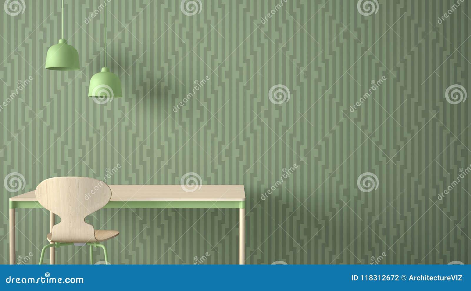 Minimalist Architect Designer Concept Table Desk And Chair Kitchen