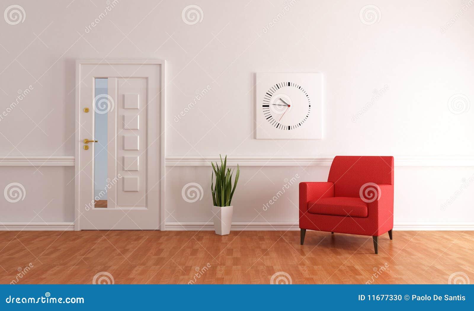 Foyer Minimalist Er : Minimalist home entry foyer stock photo image
