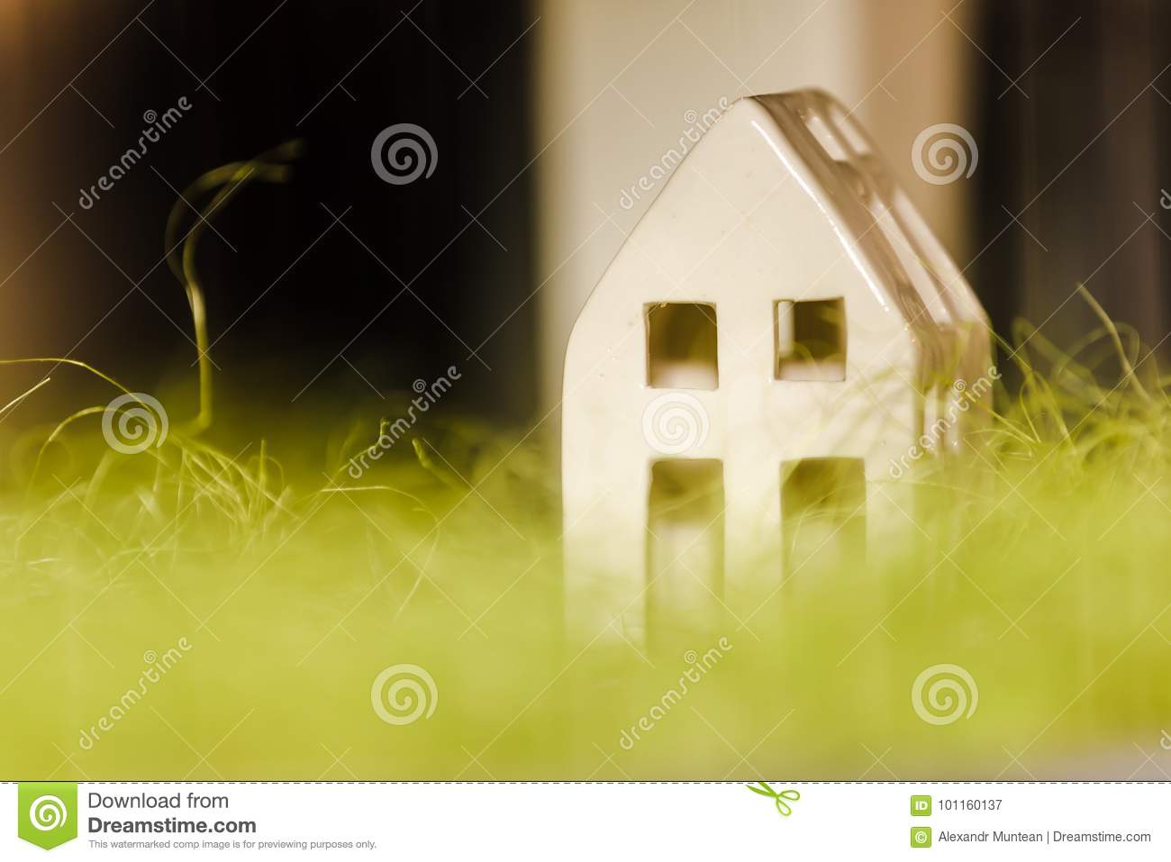 Minimalist House Layout Stock Image Image Of Glossy 101160137