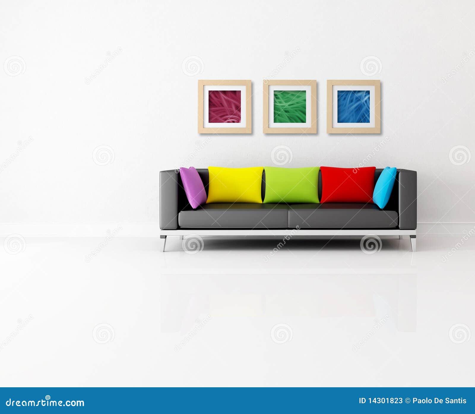 Minimalist Lounge Stock Photos Image 14301823