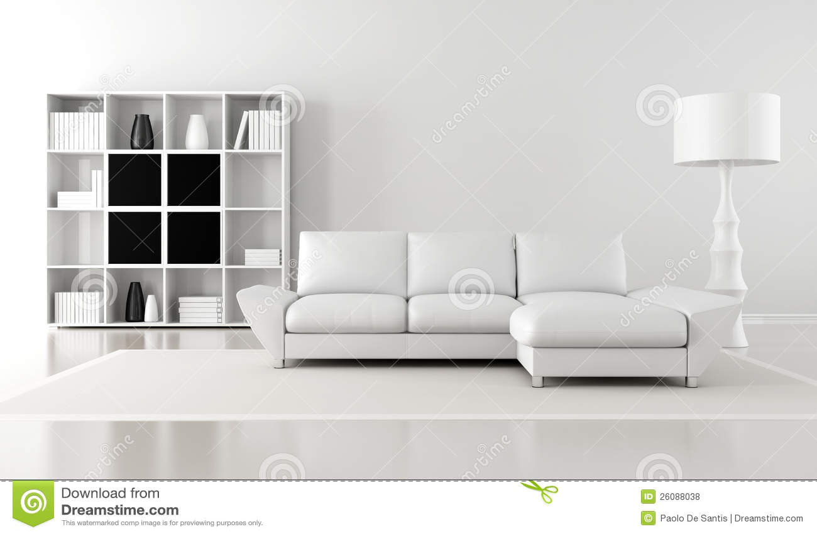 Minimalist Lounge Royalty Free Stock Photos Image 26088038