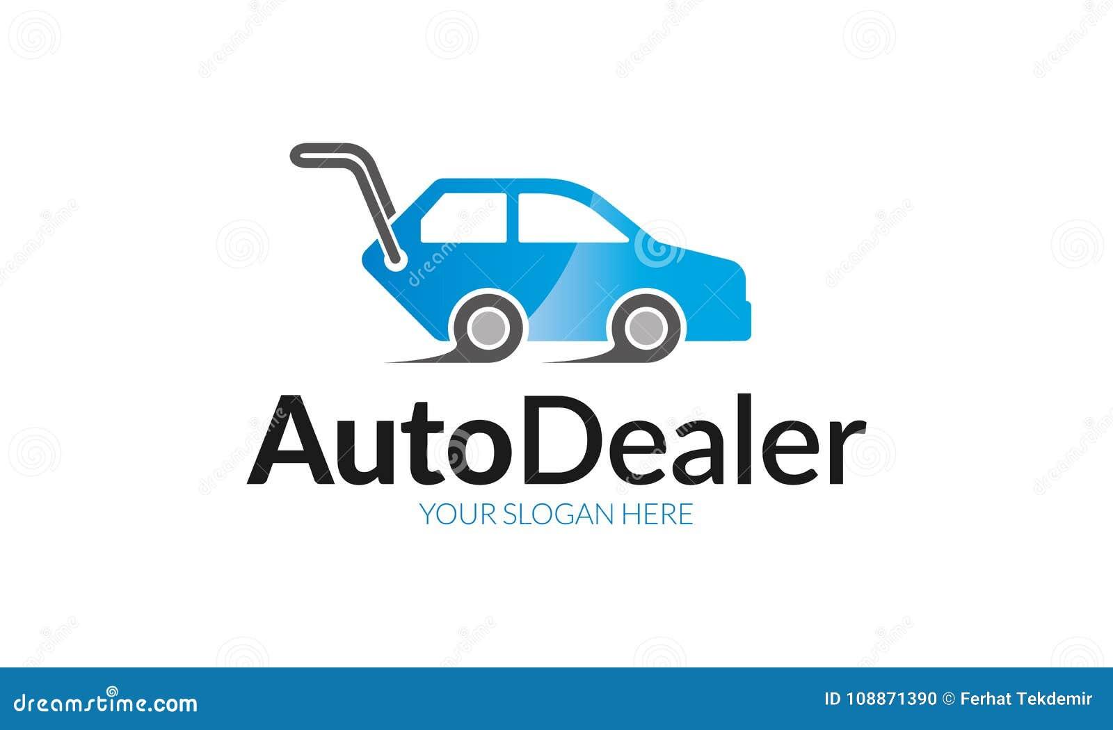 Auto Dealer Logo Template Stock Vector Illustration Of Logo 108871390