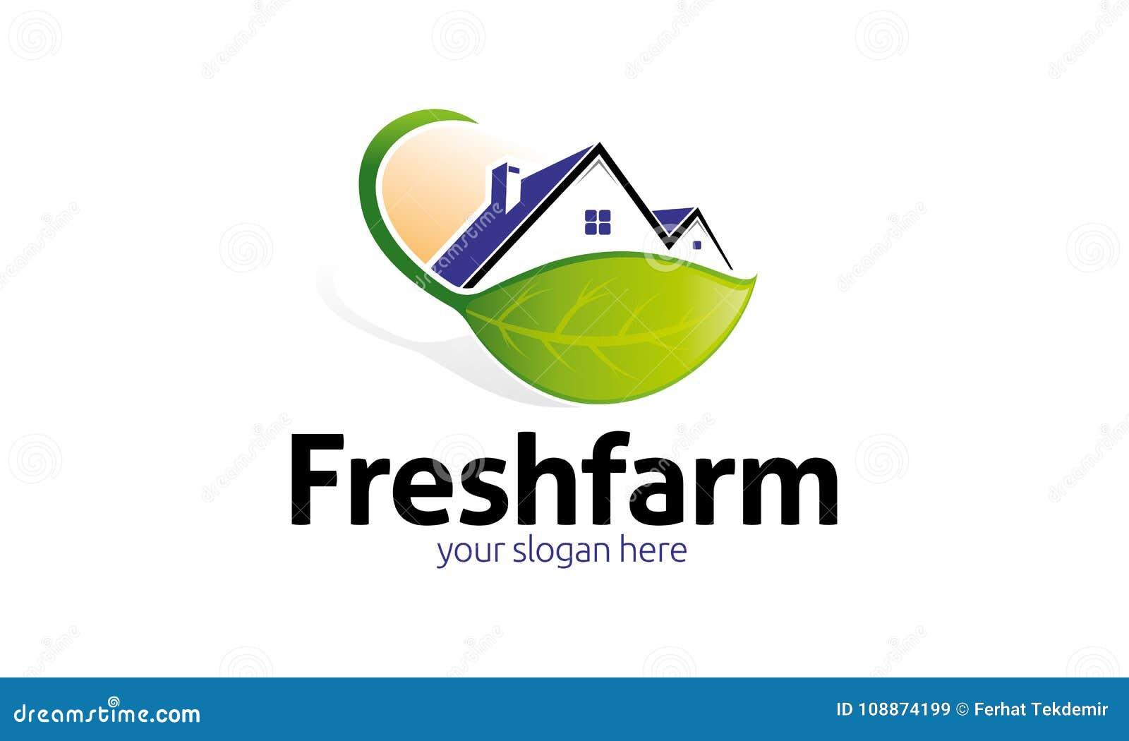 Fresh Farm Logo Template