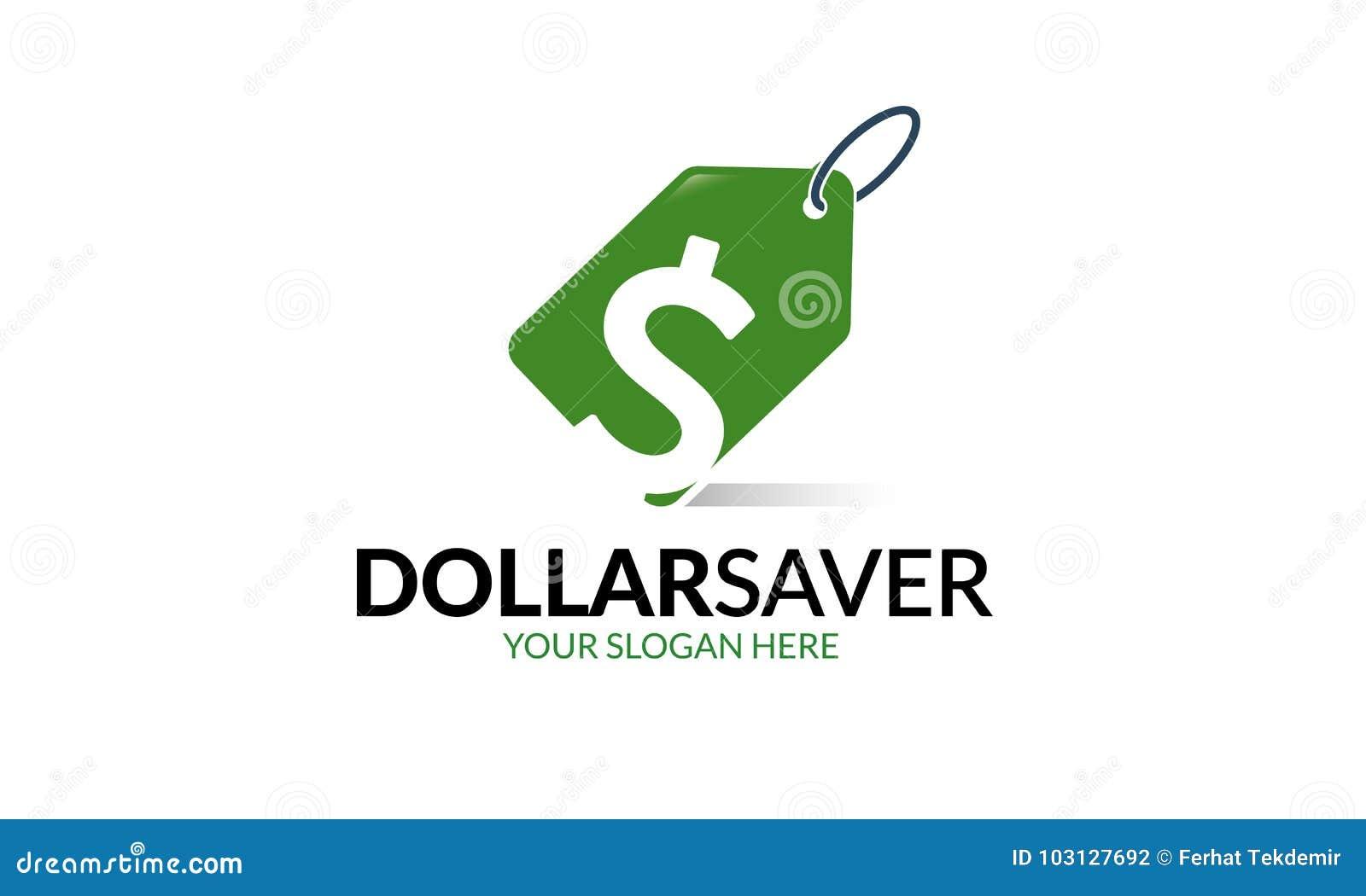 purchase logo template  Dollar saver logo template stock illustration. Illustration of ...
