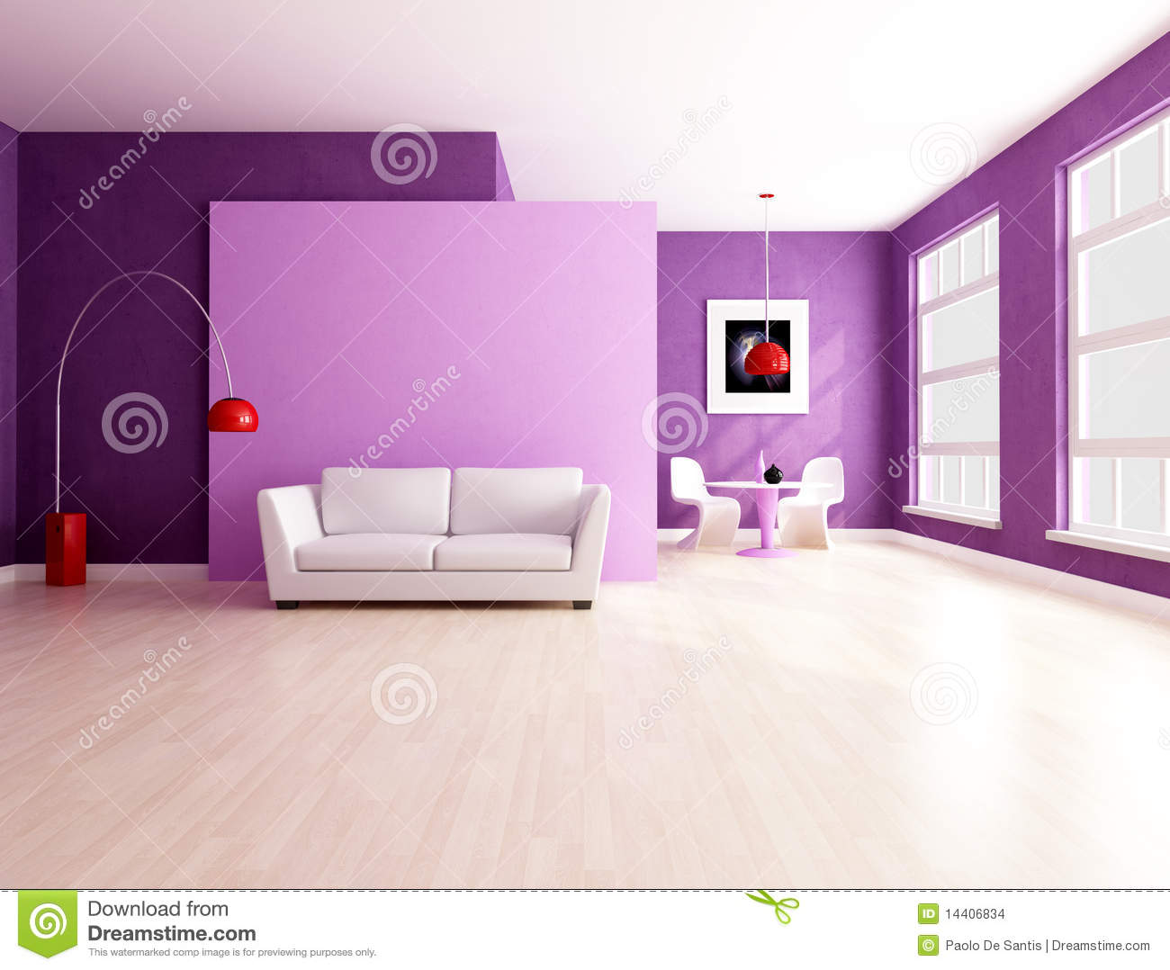 purple living room | home design ideas