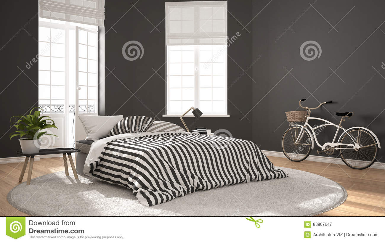 Nordic Bedroom Minimalist Scandinavian Modern Bedroom Classic Nordic Interior