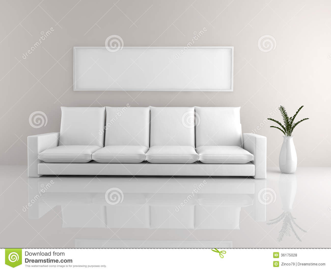 Minimalist sofa stock illustration image of blank design for Minimalist sofa