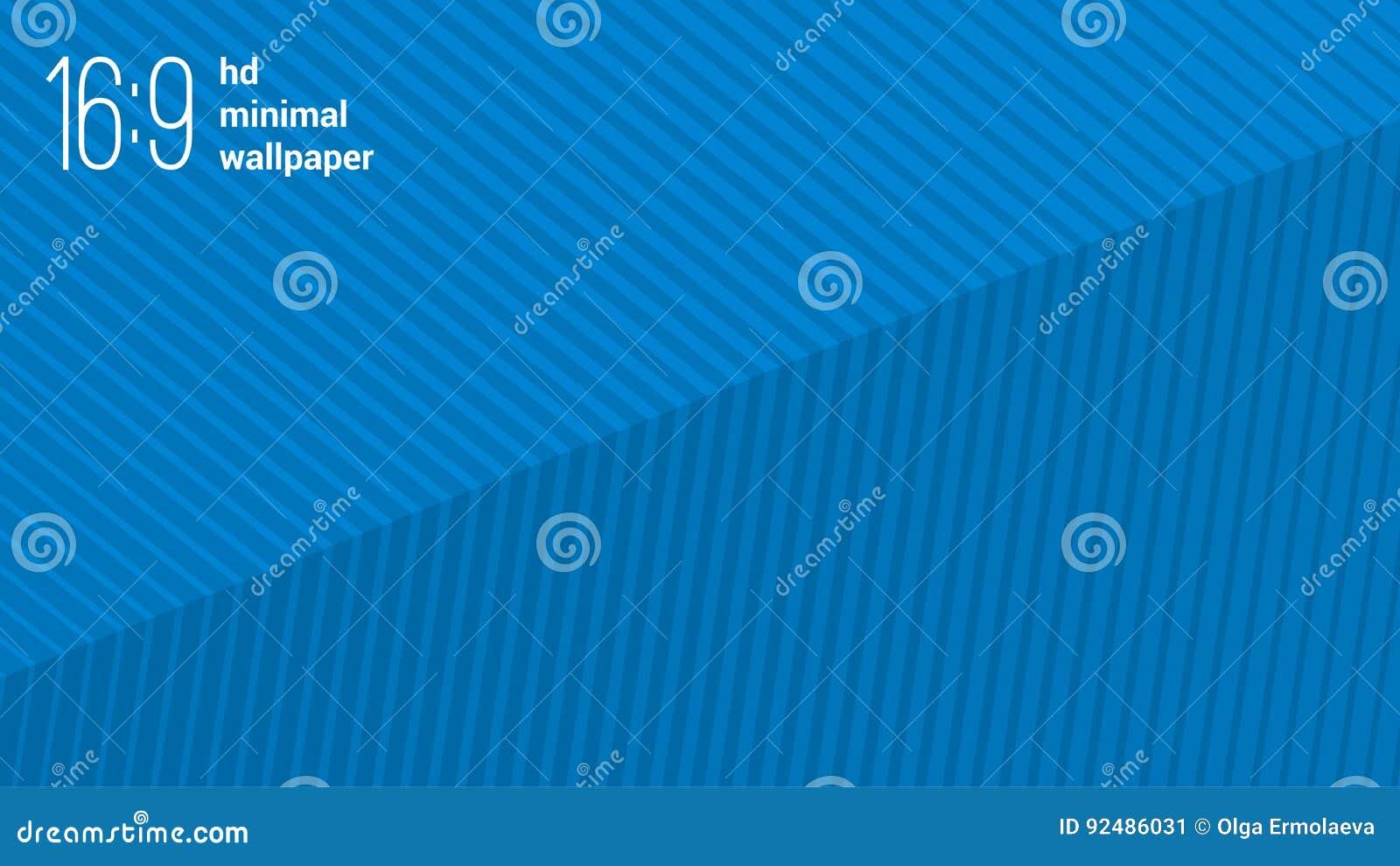 Minimalist Flat Design Hd Wallpaper Vector Background Template